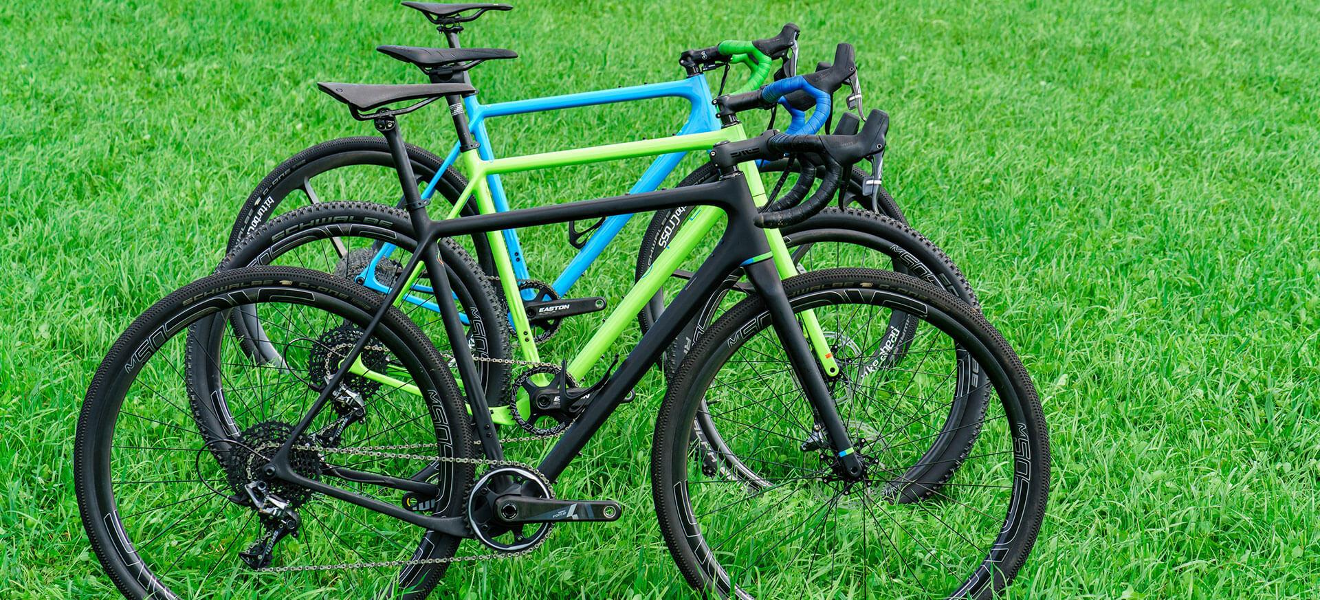 OPEN gravel kerékpár sorozat