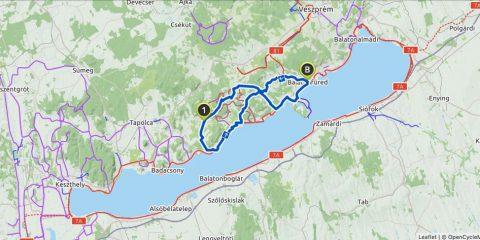 Kerékpáros útvonaltervező app –komoot