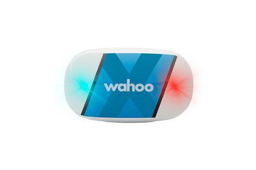 Wahoo TICKR X pulzusmérő pánt –LED-ek jelző funkciói: csatlakozás készülékhez, pulzusmérés