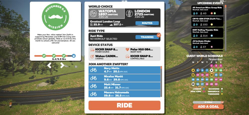 Kezdődhet az edzés a virtuális térben –a Zwift alkalmazás használata a Wahoo KICKR SNAP okosgörgőn