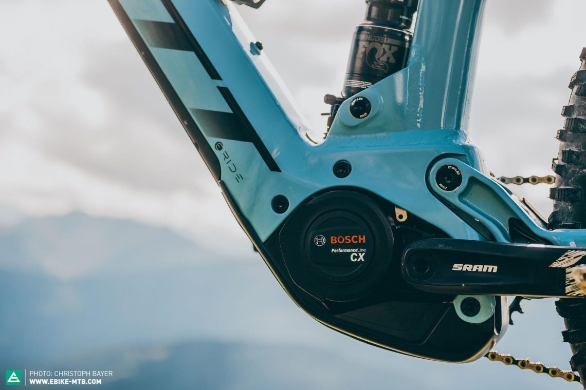 az új Bosch Performance Line CX 2020 eBike motor