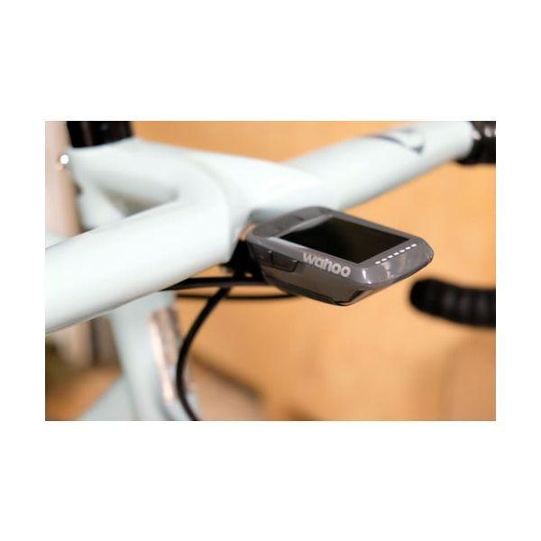 Wahoo kerékpáros GPS konzol a kerékpárra felszerelve