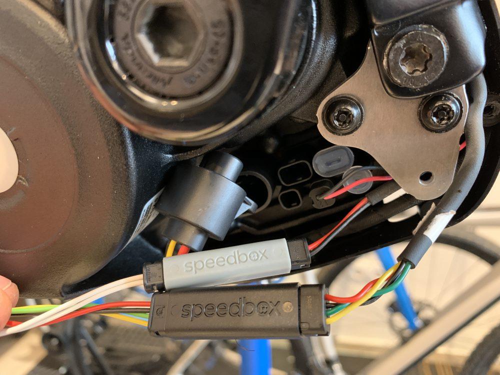 Speedbox 3.0 eBike limitmódosító beépítése az APPSolute Sport műhelyben.