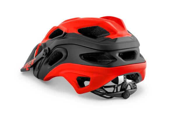 MET Lupo E-MTB bukósisak Red black