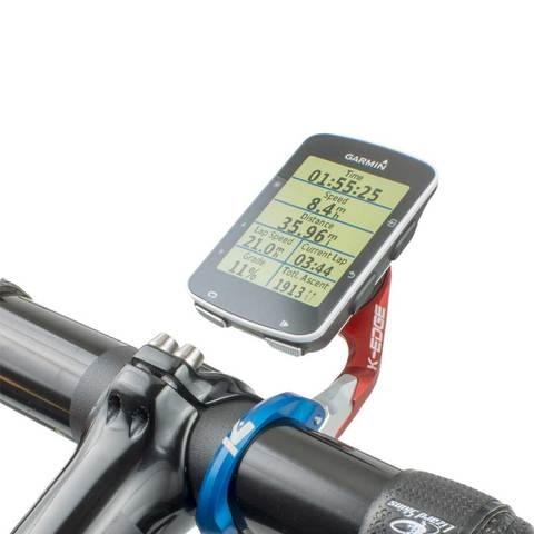 K-Edge Garmin Race Mount on handlebar