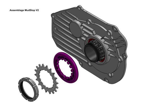 MudStop Bosch motorokhoz