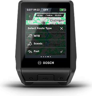Bosch Nyon navigáció