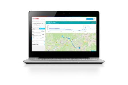 Bosch eBike Connect notebook