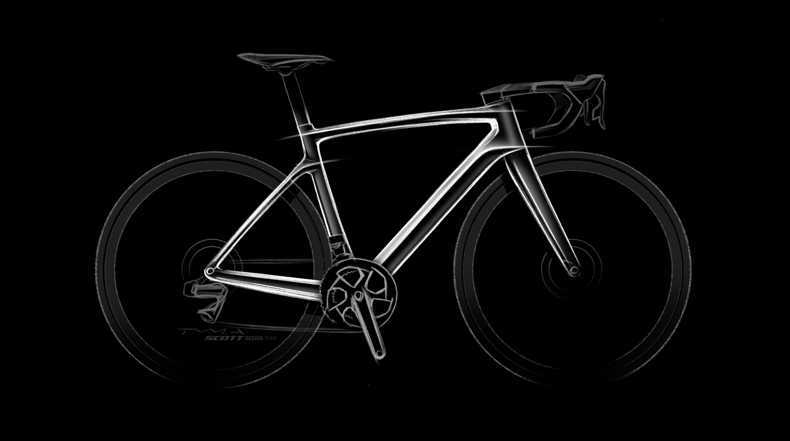 Scott Addict eRide design - formaterv