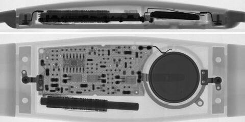 X-ray, egy HRM szenzorról.