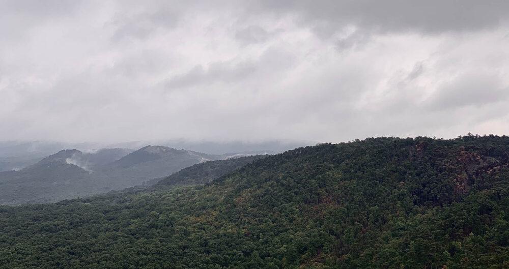 Kilátás a Huszonnégyökrös-hegyről.