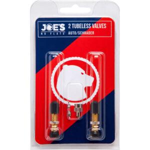 Joes-No-Flats-Tubeless-Schrader autós szelep-szett