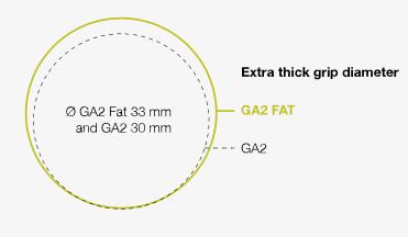 Ergon GA2 markolat átmérő