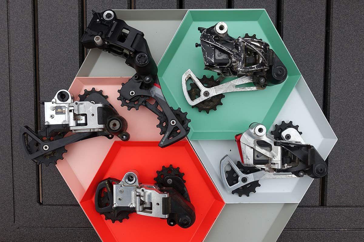 SRAM Eagle eTAP és AXS prototípusok