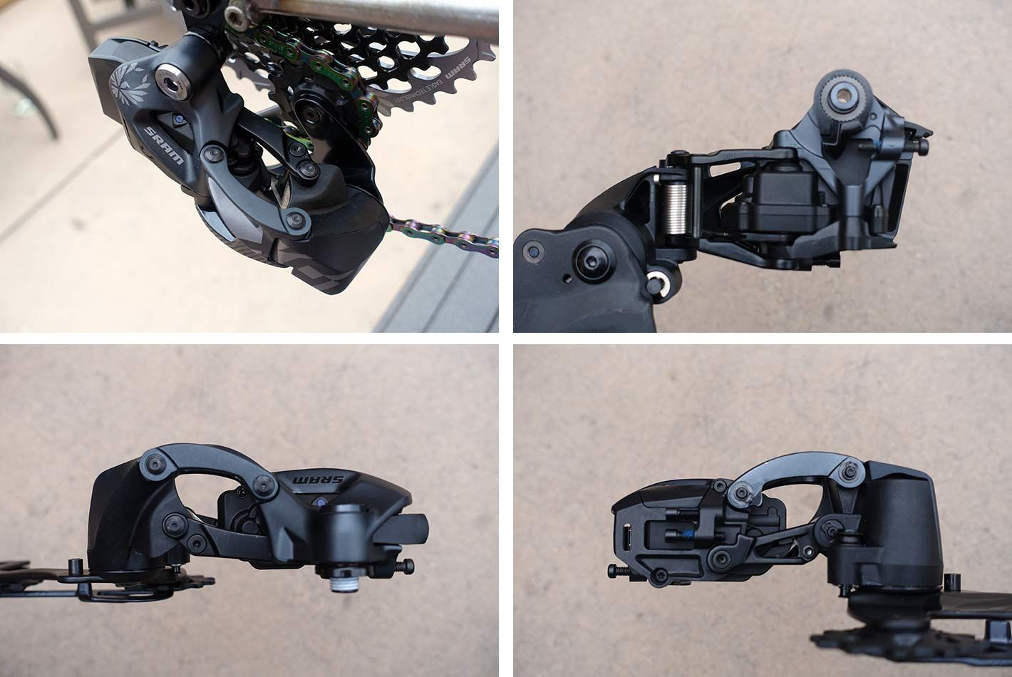 SRAM Eagle AXS minden oldalról
