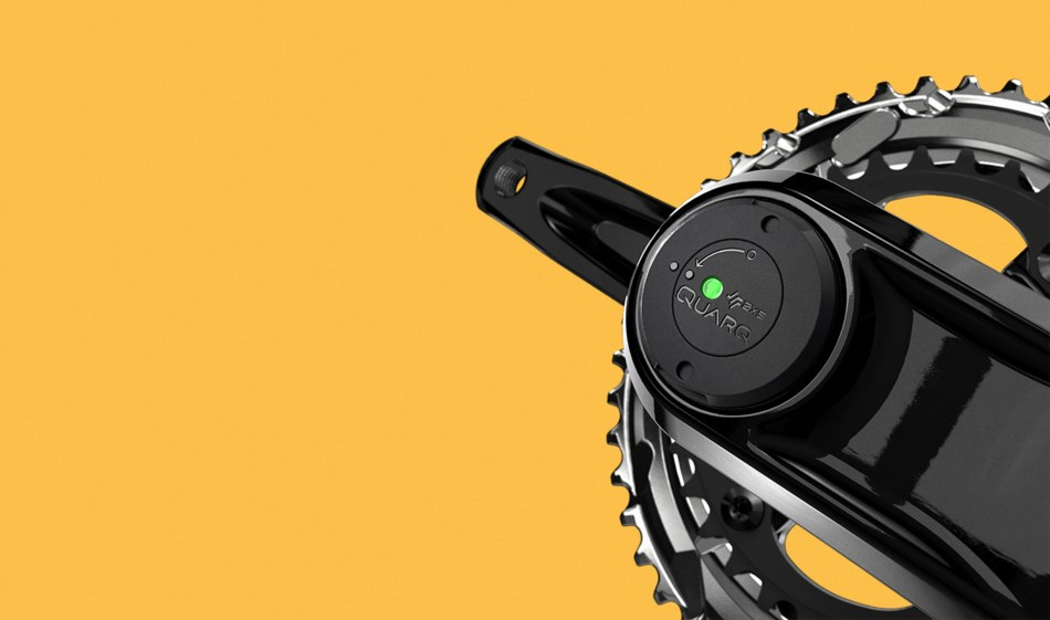 SRAM Rival eTap AXS integrált Quarq wattmérő