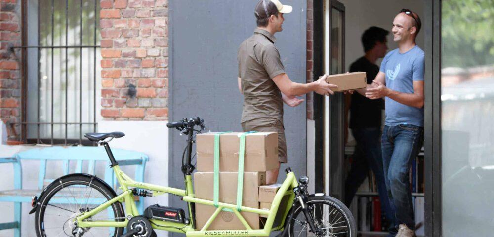 e-Cargo kiszállitás